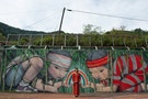 French Mural Artist Brightens the Walls of Aboriginal Tribes in Taiwan