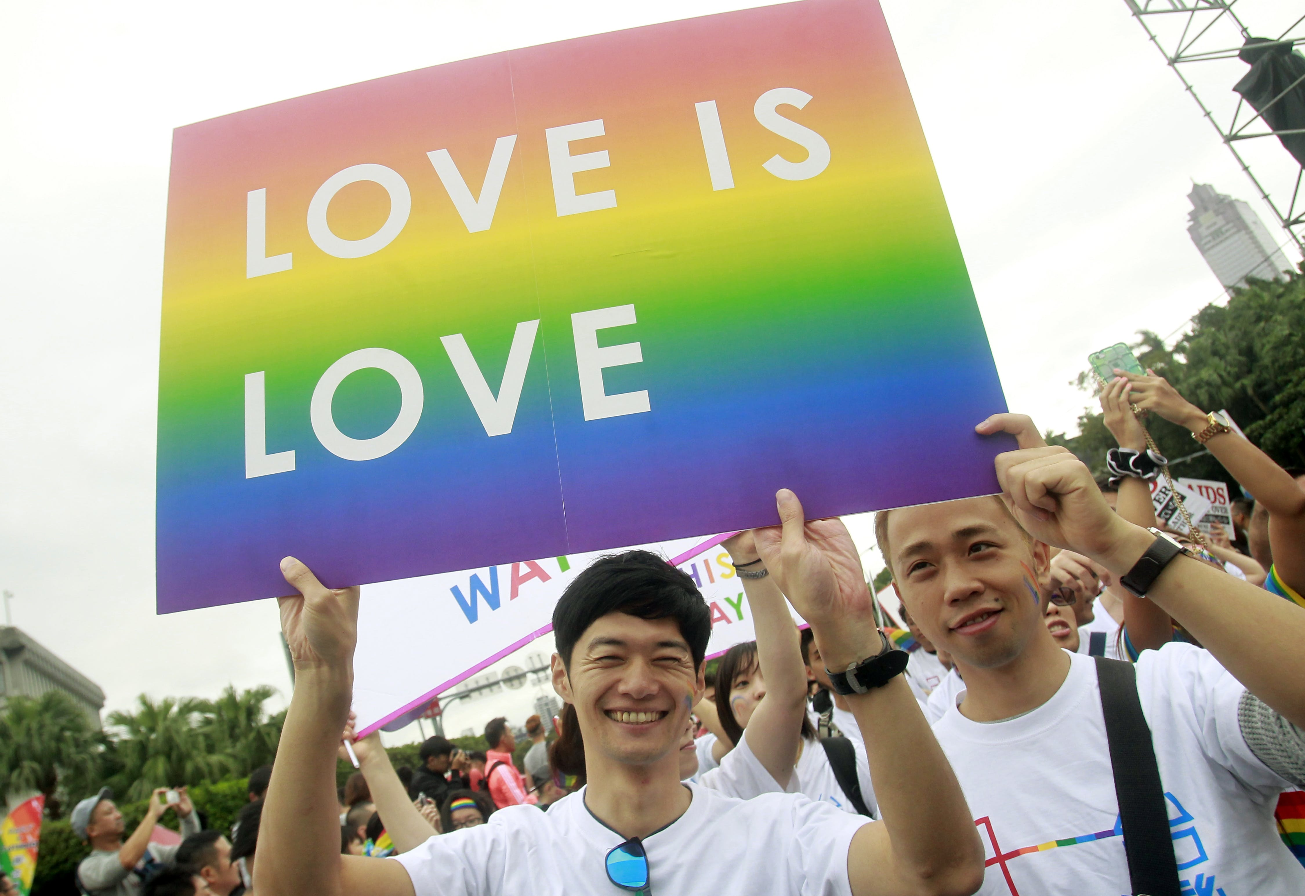 All Taiwan Municipalities To Recognize Same-Sex Relationships