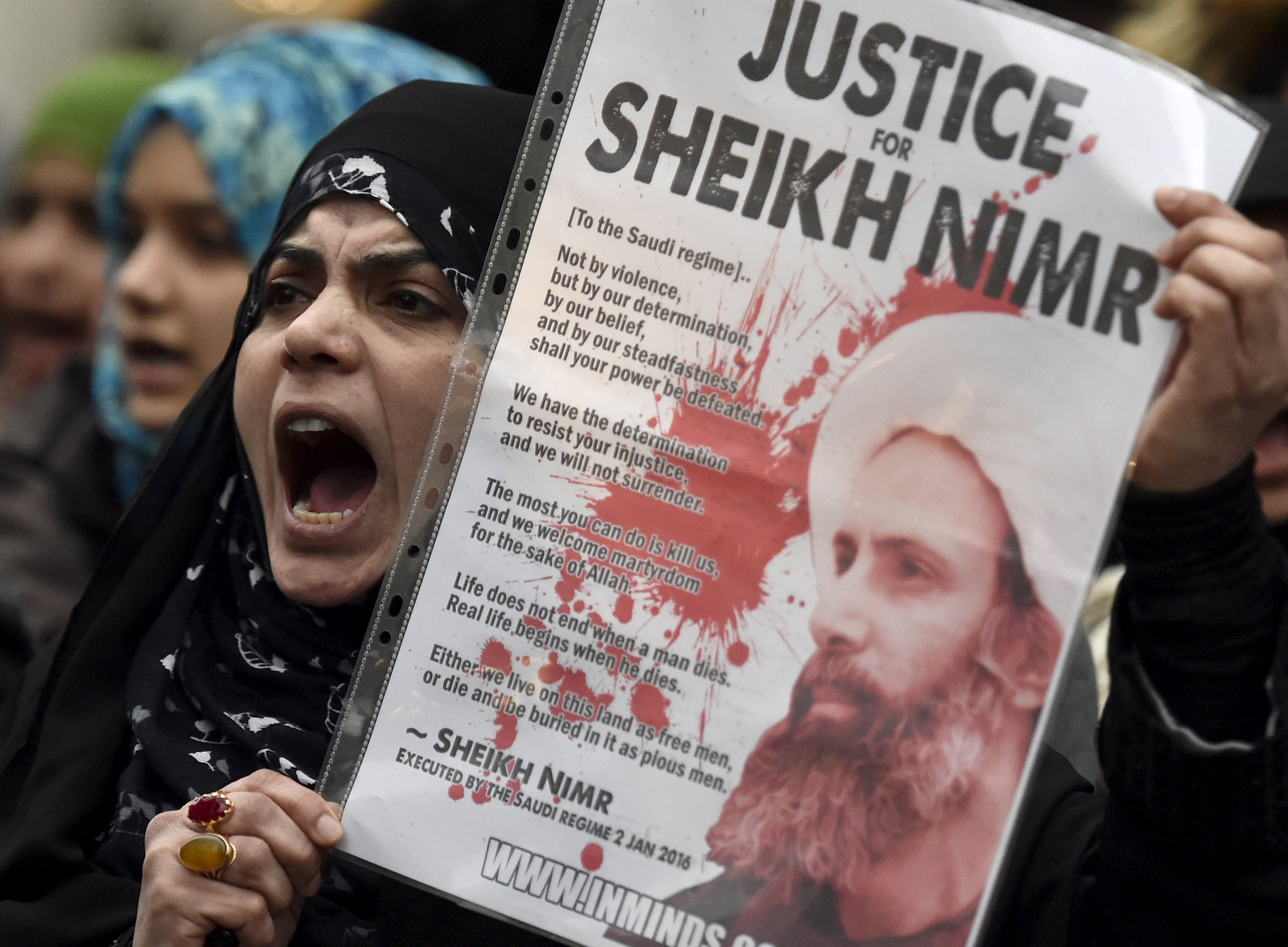 Tension Rises in the Middle East as Saudi Arabia Cuts Diplomatic Ties with Iran
