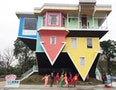 Upside-Down House in Taipei Draws Limelight
