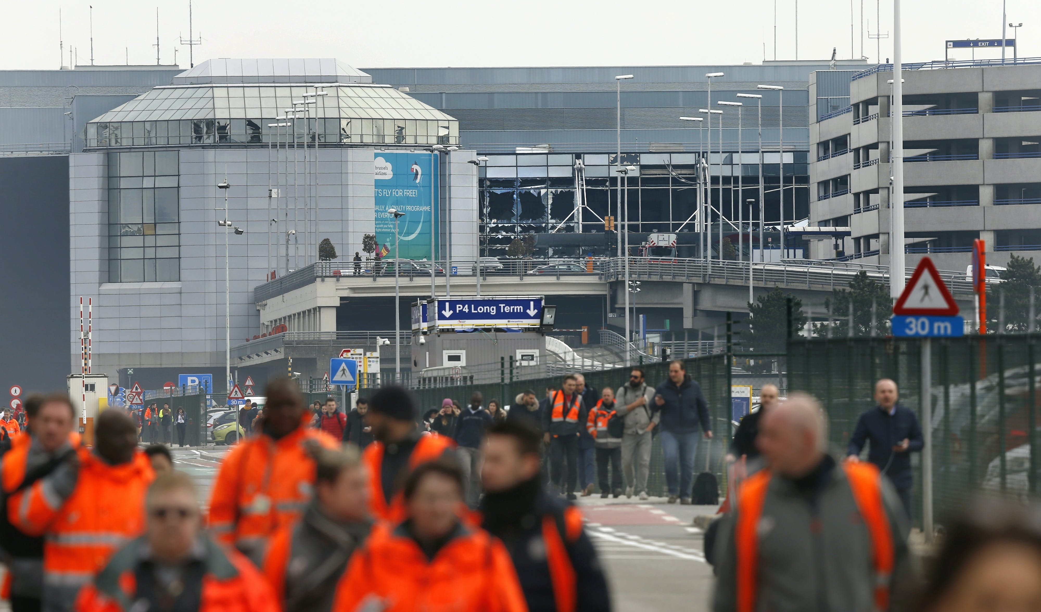 Latest Update: Explosions Strike Brussels, Claiming More Than 30 Lives So Far