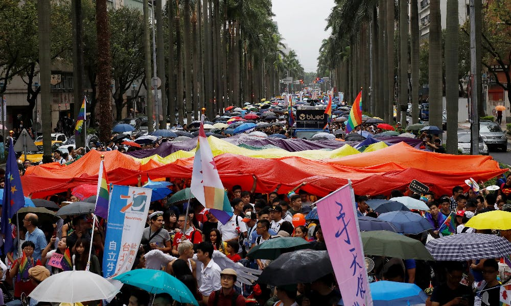 Ahead of Pride, Taiwan Still Waits for Same-sex Marriage