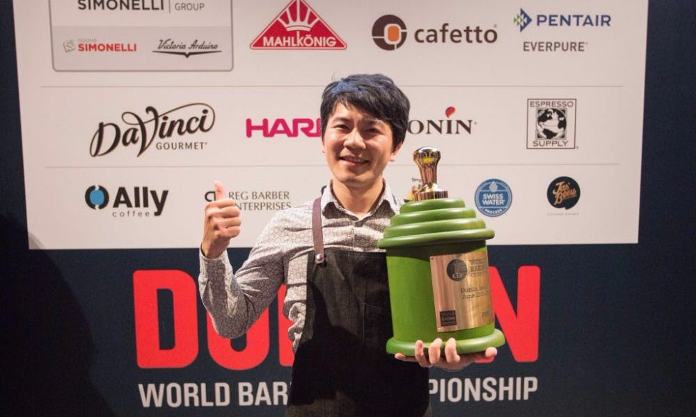 Brewing A Title: Taiwan Barista Crowned World Champion