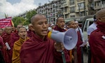 Burma Rocked by Anti-Muslim Protests After Arson Attacks on Mosques