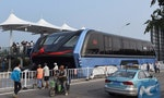 China's Road-Straddling Bus: A Scam?