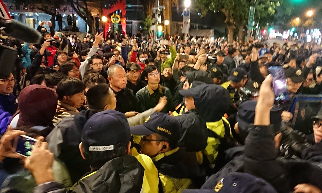 Labor Law Demonstrations Culminate in Clashes with Police