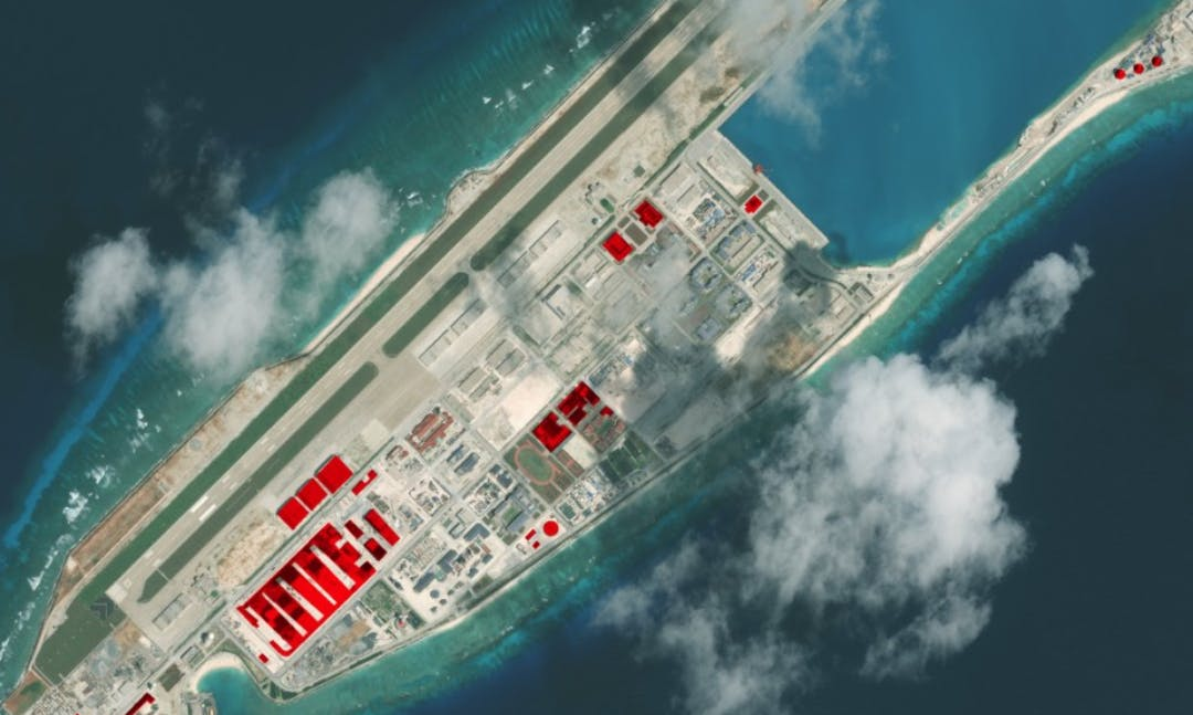 PHOTO STORY: A Busy Year on the South China Sea