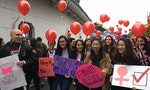 Foreigners and Taiwanese Unite for Women's Rights