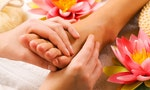 Foot Massage Pushes All the Right Buttons