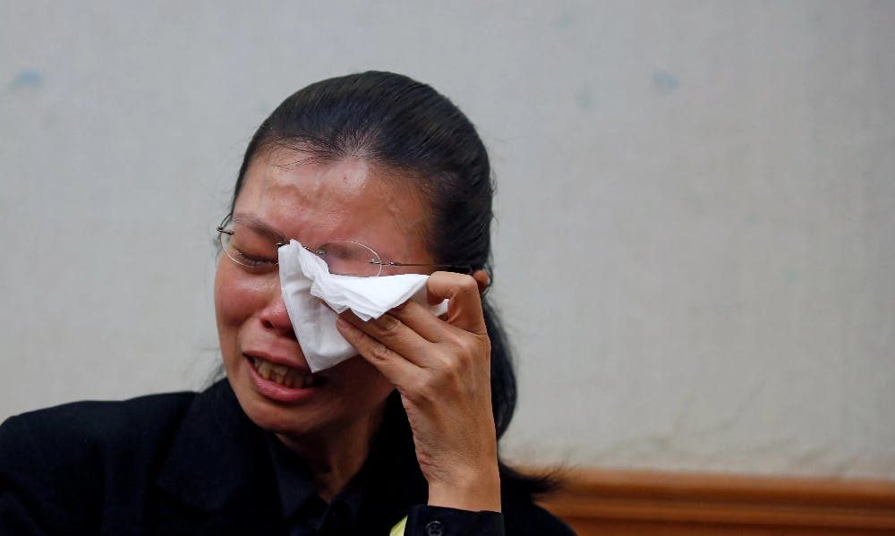 Wife of Missing Taiwan Activist Told that Local Security Officials Mistakenly Detained Husband