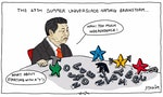 CARTOON: Protests to Start as the Universiade Kicks Off?