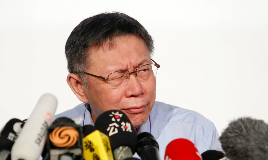 Taiwan News: Taipei Mayor Ko Snarls at DPP 'Censorship'