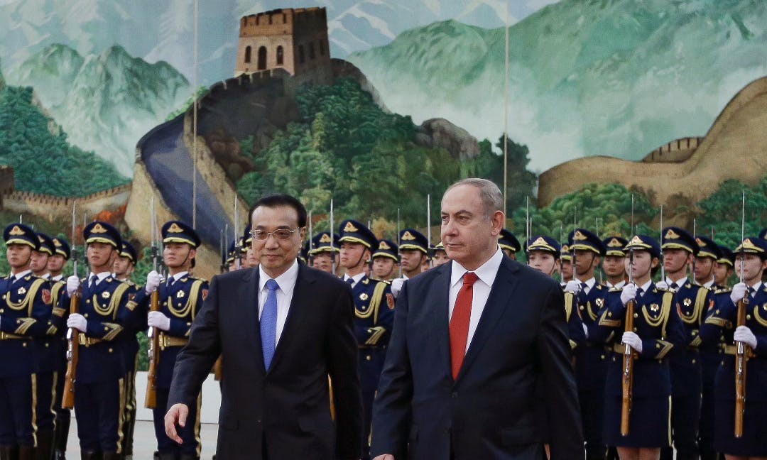 China Is Making Inroads in Israel as Trump Alienates Allies