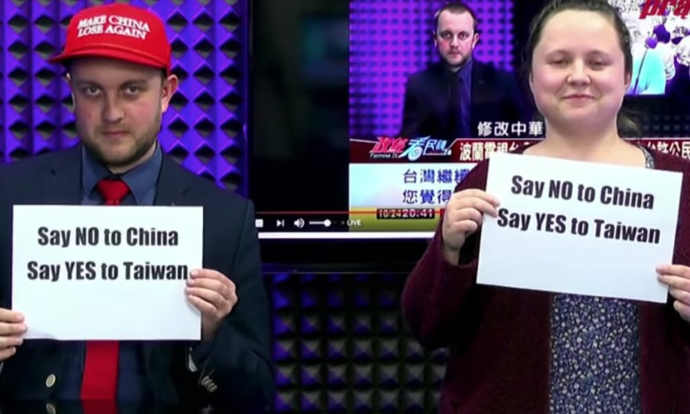 'Make China Lose Again': Taiwan Gets Love From the Polish Far-Right
