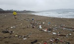 Death by Drowning in Plastic on Taiwan's Beaches
