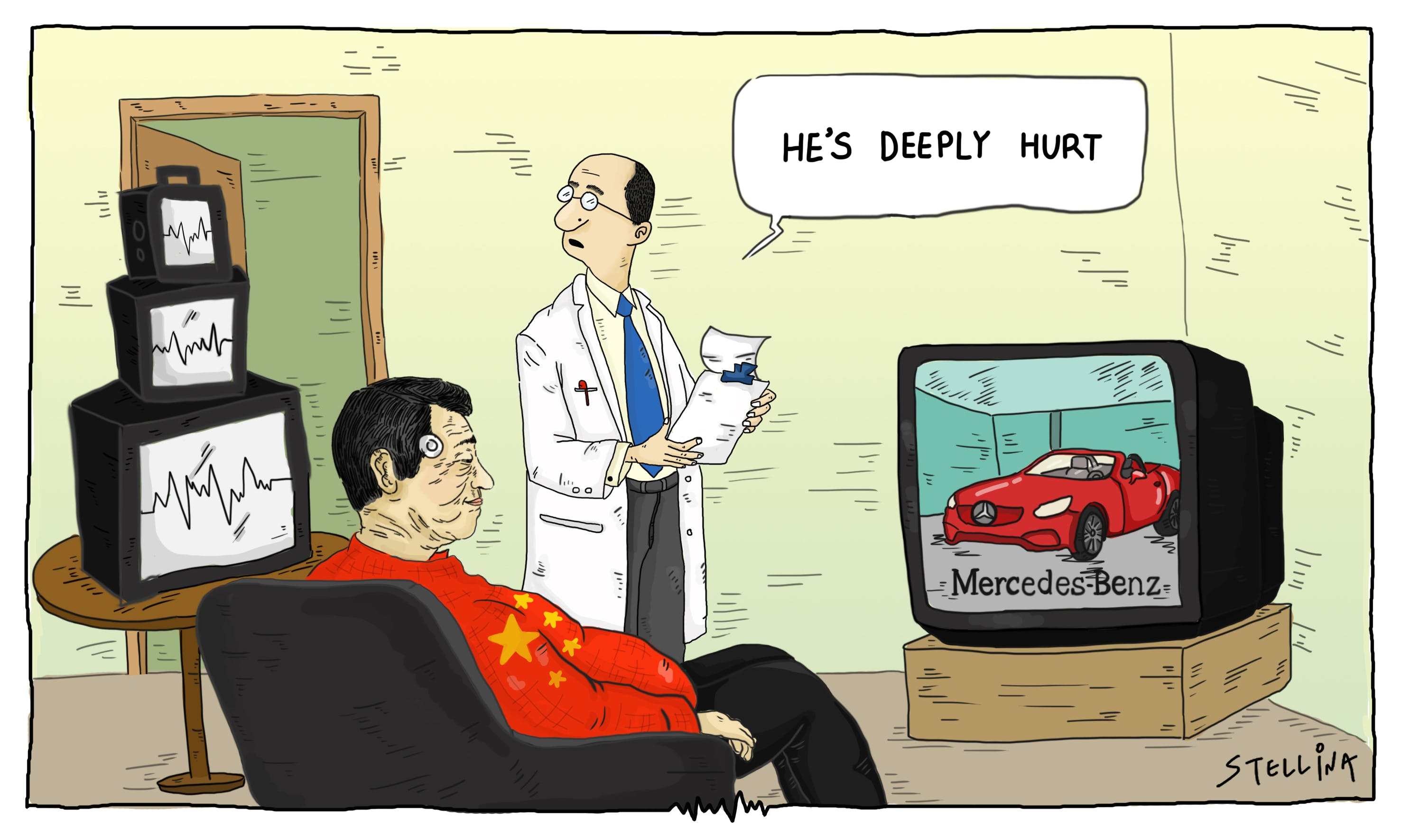 CARTOON: China Offended Yet Again