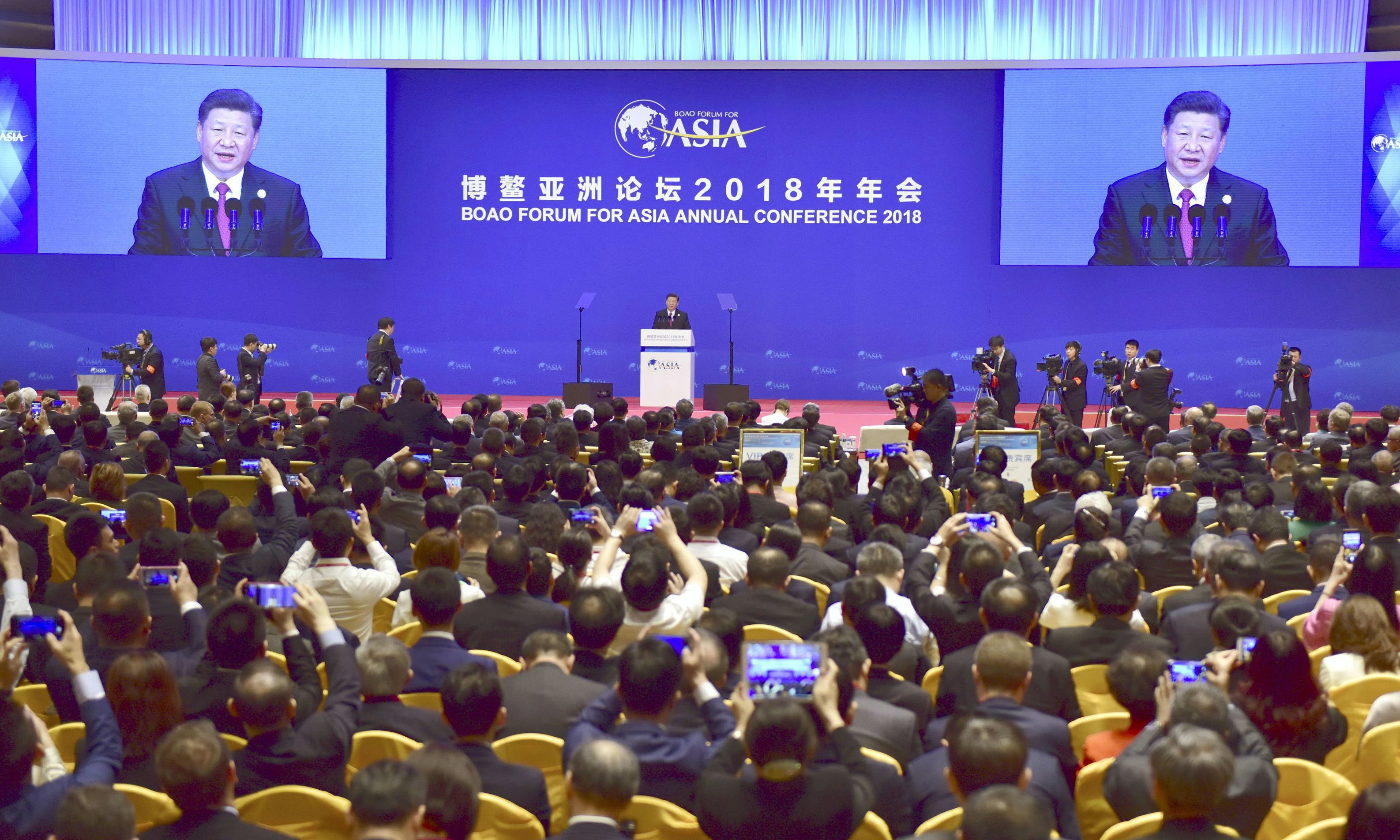 Big Surprise: Chinese State Media Fawned Over the Boao Forum