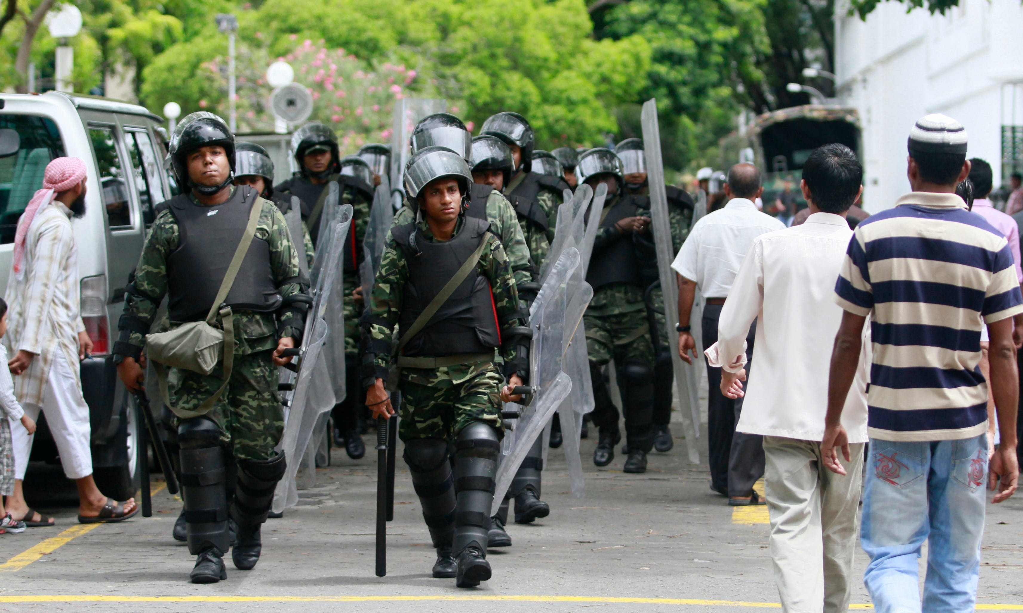 Amid Domestic Strife, Maldives' Military Takes to International Stage