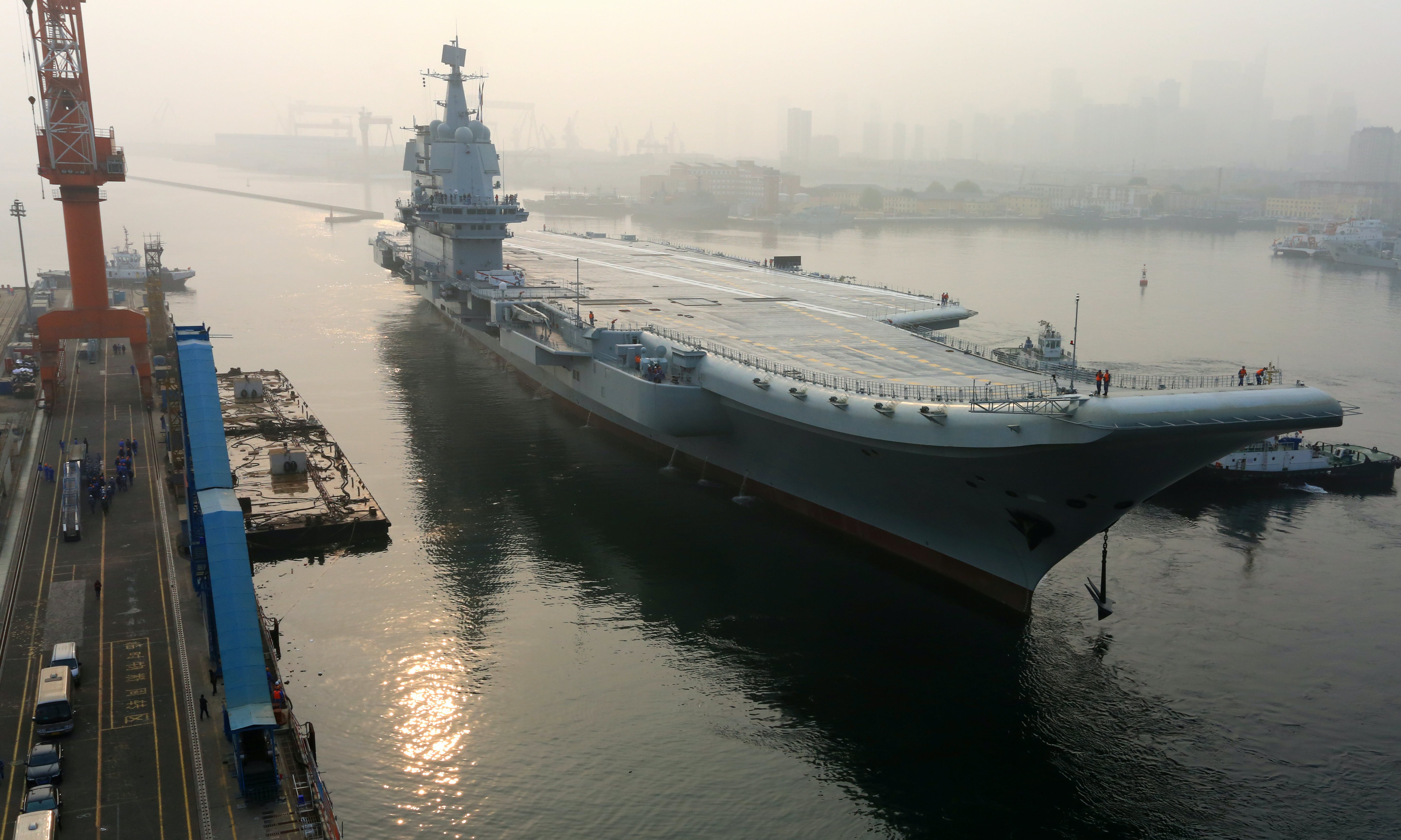 Taking the Measure of China's New Aircraft Carrier