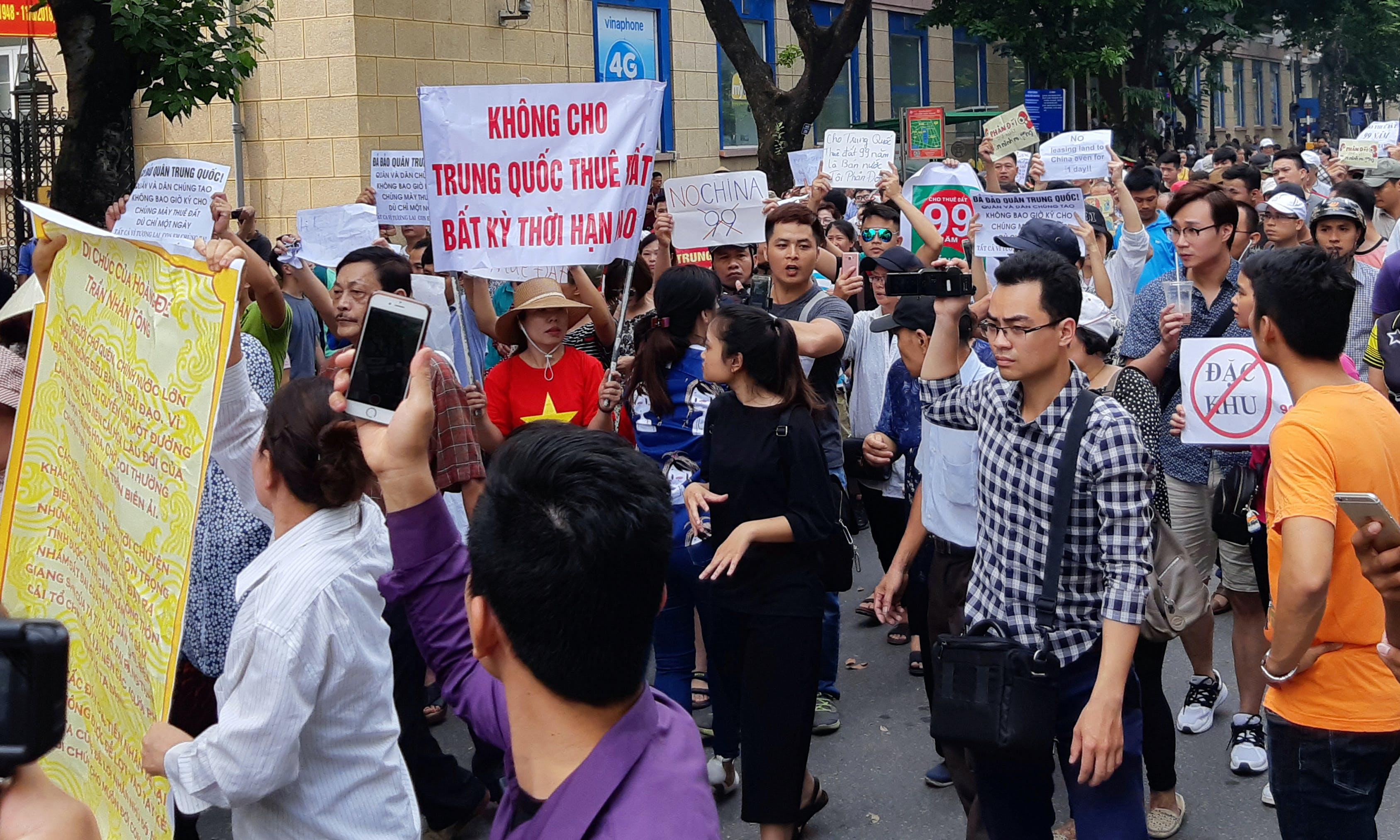 VIETNAM: Workers Protest Proposed Lease of Economic Zones to China