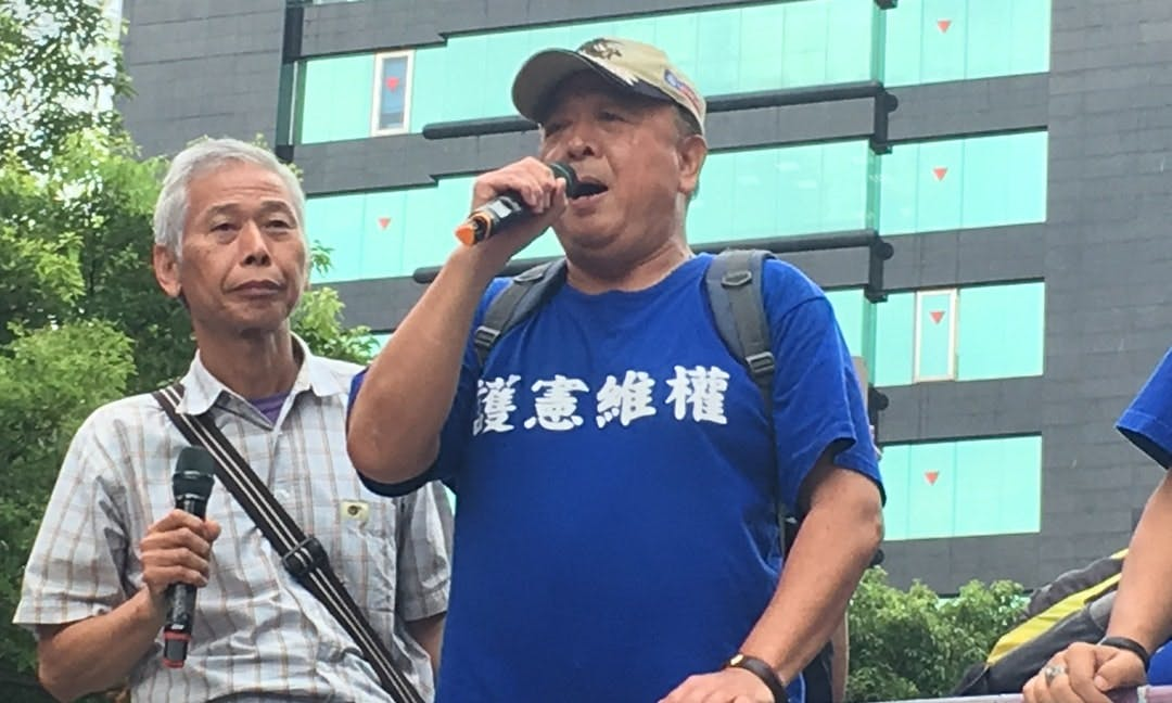 INTERVIEW: Pension Protest Leader Wu Sz-huai of the 800 Warriors