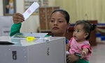 CAMBODIA: Campaigning to Keep Voters' Fingers Clean Ahead of Dirty Elections