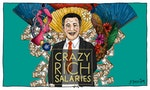 The Crazy Rich Salaries of Singapore's Ministers Versus the Poor Peasants Who Support Them