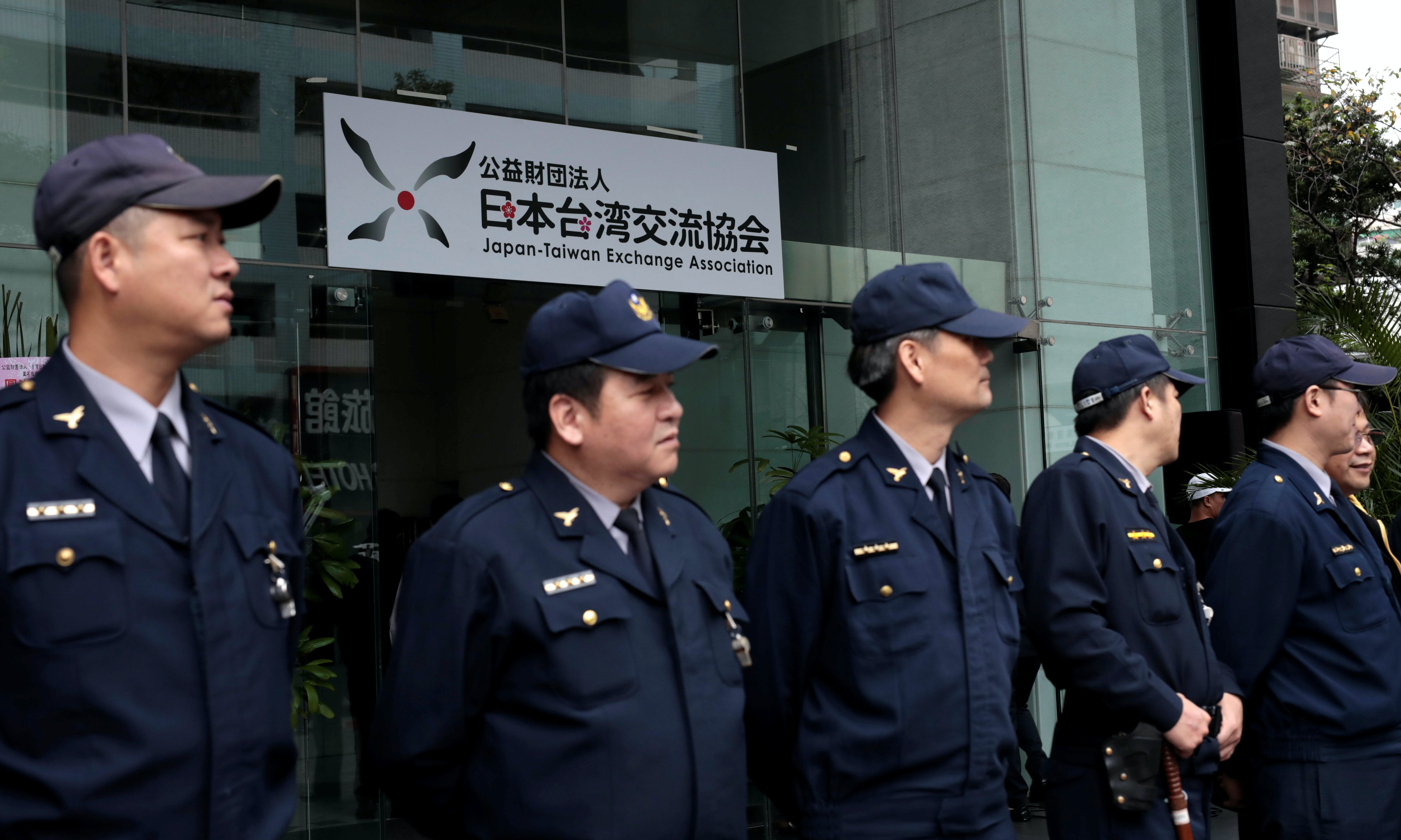 Taiwan News: Pro-China Unification Group Paint Bombs Japan's De Facto Embassy