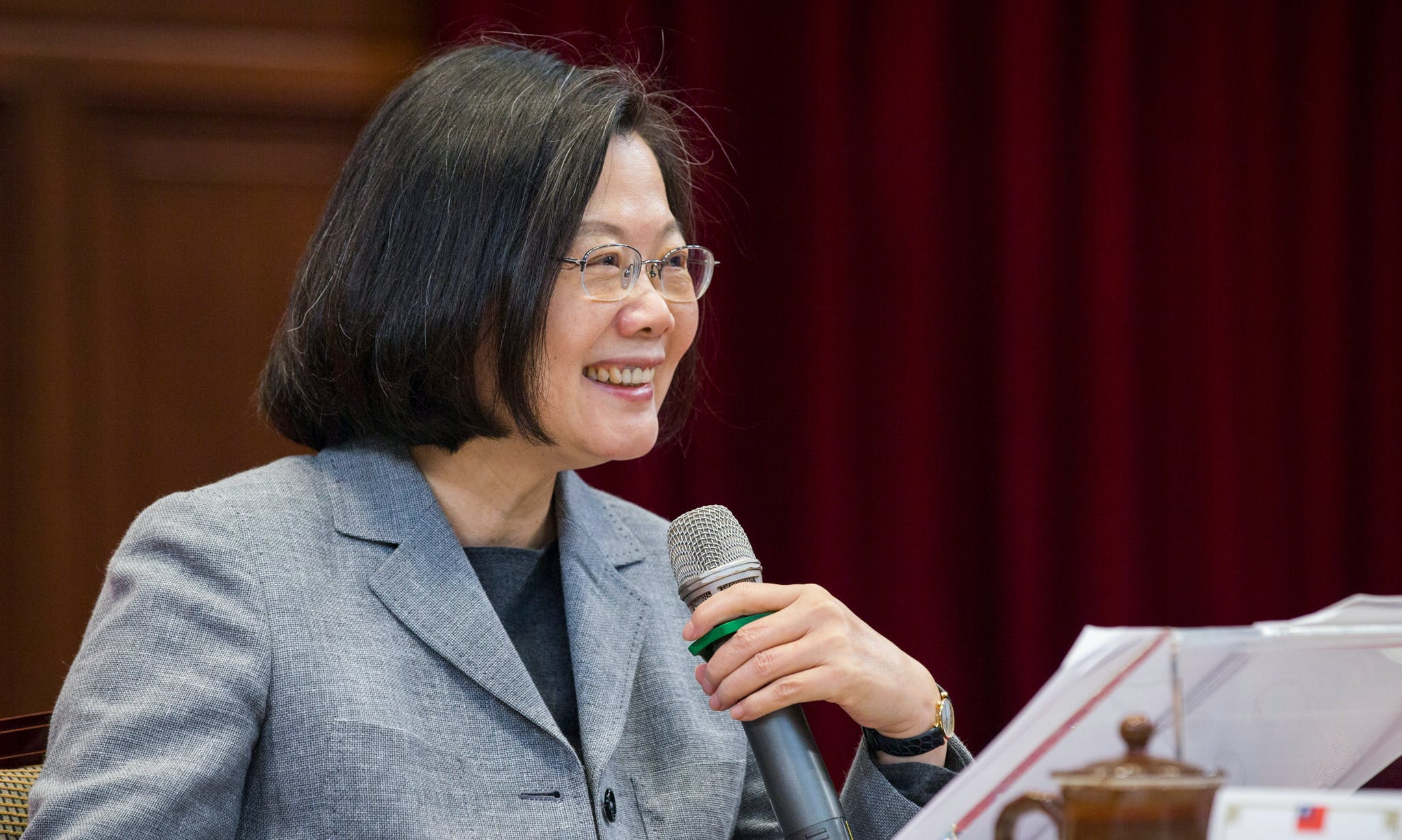 Taiwan News: Tsai Calls on Democratic Allies for Protection, DPP Elects New Chair