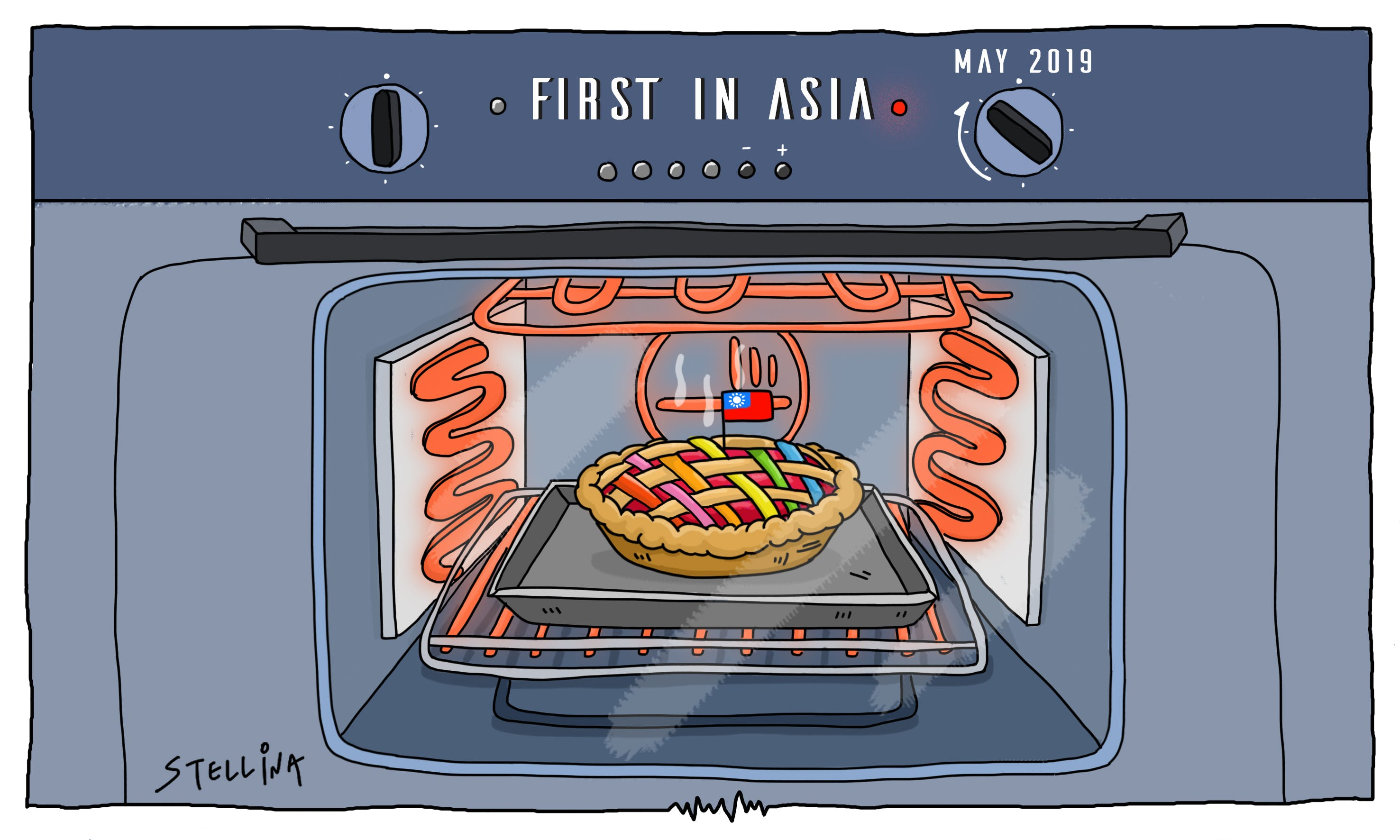 CARTOON: Taiwan's Slow-Baked Recipe for Marriage Equality
