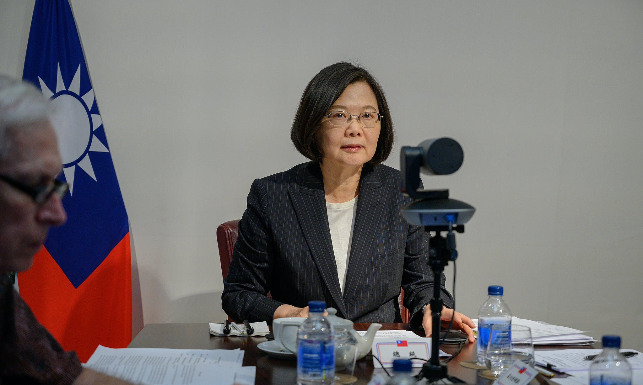 President Tsai Calls for US Support of Taiwan in Address to Heritage Foundation