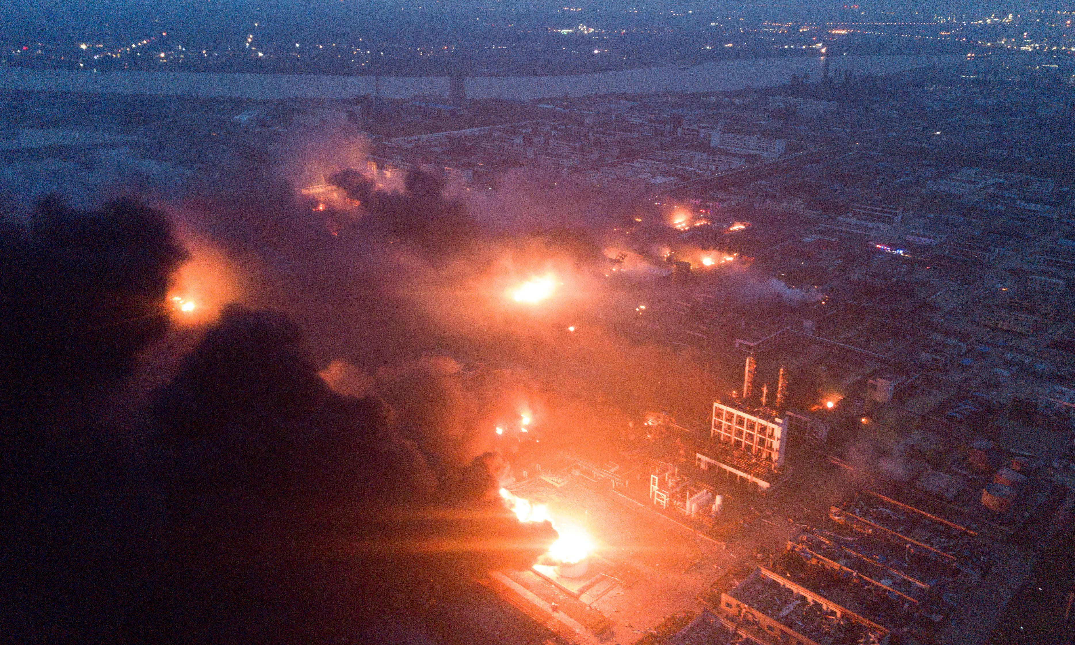 At Least 47 Killed, 90 Injured in Chemical Explosion in Eastern China