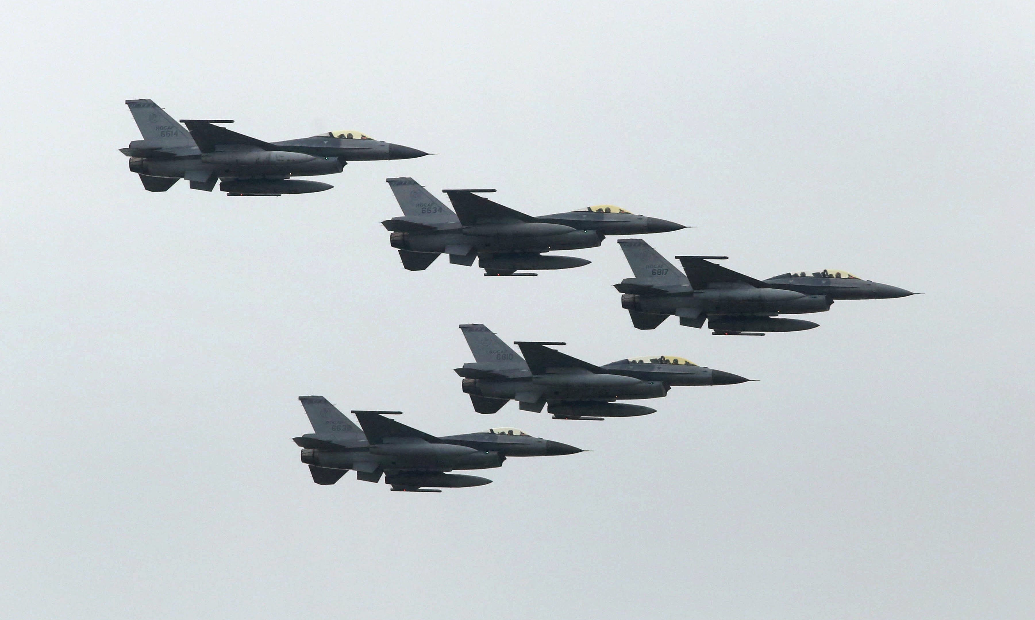 Taiwan Officially Makes Request to Buy New Fighter Jets From United States