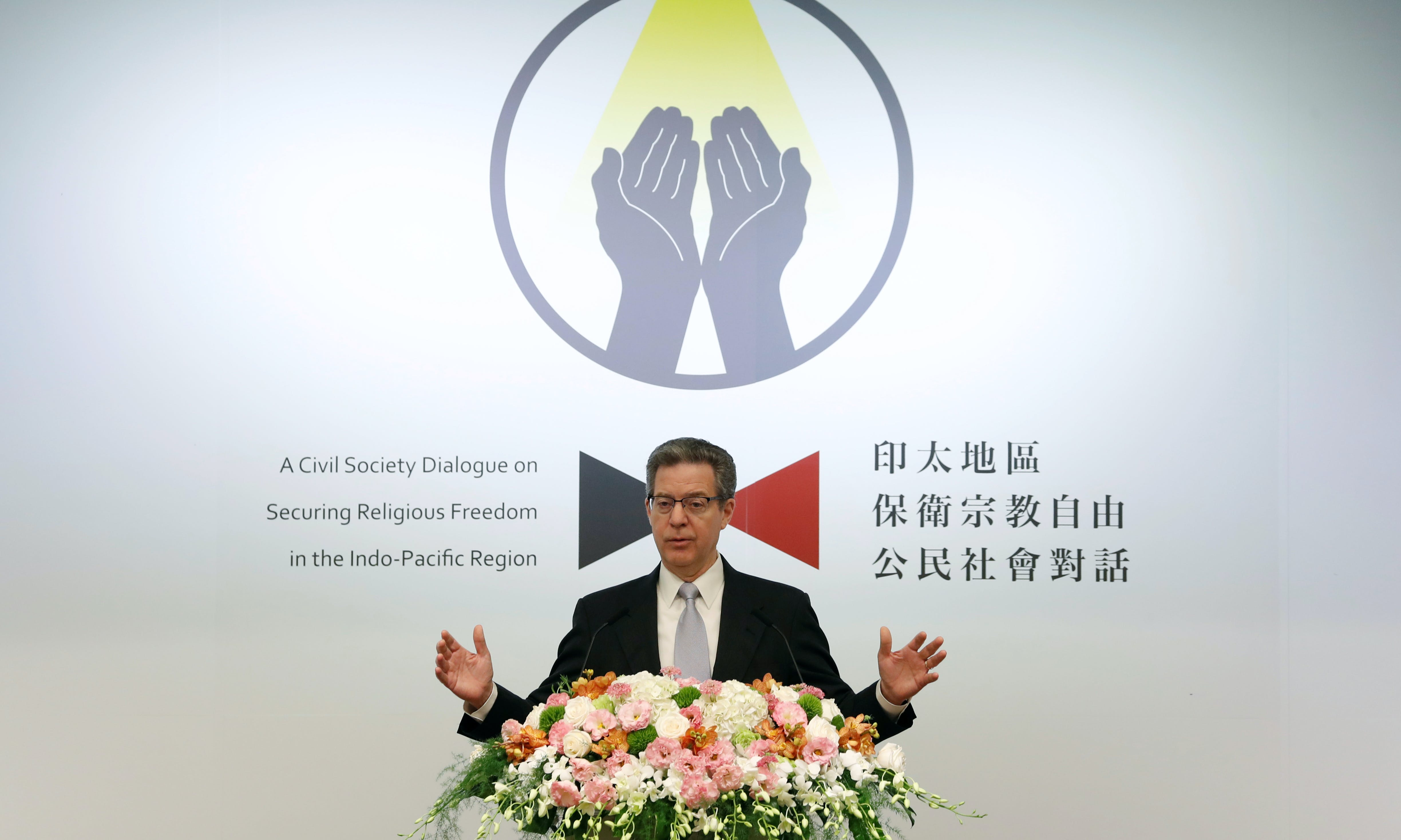 US Official in Taipei: 'The Chinese Government Is at War With Faith'