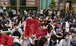 "Hong Kong Students in Taiwan Condemn ""Puppet"" Government, Urge: Stop Police Violence"
