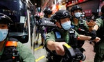 Hong Kong Police Arrest Eight Over 'Unauthorized' Protest