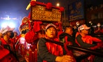 A Symbol of Pandemics Conquered Paraded Through Taipei