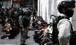 Hong Kong Police Blockade Legislature Ahead of National Anthem Vote