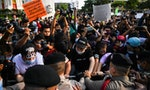 Thai Protesters Demand Prayuth Government Step Down
