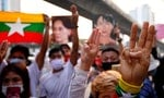Myanmar: Huge Turnout for Anti-Coup Protests